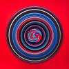swirly sucker (auntneecey) Tags: swirlysucker red purple blue circles sucker 365the2018edition 3652018 day89365 30mar18