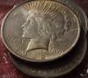 Old Dollars (björnvandenbulcke) Tags: silver old dollar 1 liberty god we trust 1922 1921 macromondays backintheday back day