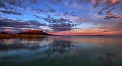 Colors of Badacsony (kalbasz) Tags: badacsony szigliget balaton lake reflection mirror mirrorless hungary outdoor nature clouds fuji xt2 xf1024 landscape color hdr colors sunset
