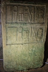 St Paul's Catacombs (Douguerreotype) Tags: burial historic grave stone malta tomb underground