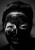 Charcoal Mask (xihuchris) Tags: sony a7 olympus zuiko 50mm 14 adapted lens portrait charcoal mask asian girl vintage black white monochrome people street