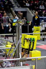 IMG_7900 (holytrinityrobotics) Tags: oakville omgrobots light event coverage robot robotics hersheyscentre gold mechanical electrical pneumatics onchampsfrc first firstcanada frc ontario tronic titans