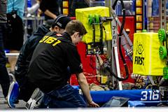 IMG_7754 (holytrinityrobotics) Tags: oakville omgrobots light event coverage robot robotics hersheyscentre gold mechanical electrical pneumatics onchampsfrc first firstcanada frc ontario tronic titans