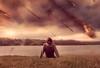 A Date with Destruction (GideonAJWay) Tags: asteroid meteor conceptual idea story colour wales welsh calm destruction