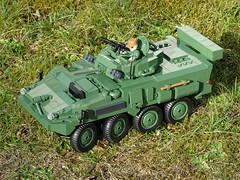 Cobi_2609_LAV_III_APC_Steering_Upgrade_2 (El Caracho) Tags: cobi building blocks small army 2609 lav iii apc 2610 stryker m1126 icv steering upgrade moc