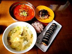 Korean food (MelindaChan ^..^) Tags: busan skorea 釜山 rolls food eat korean chanmelmel mel melinda melindachan travel spring