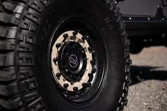 Black Rhino Arsenal on Jeep JK Wrangler - 12 (tswalloywheels1) Tags: textured matte black jeep jk jku wrangler lifted rhino arsenal sand military offroad off road truck suv aftermarket wheel wheels rim rims alloy alloys