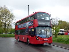 Hybrid 83 (londonbusexplorer) Tags: metroline travel volvo b5lh wrightbus gemini 3 vwh2275 lk17cxy 83 alperton golders green tfl london buses