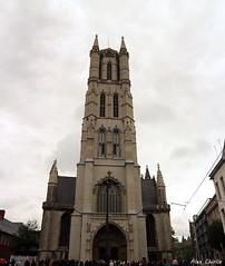 church, Gent (Alex Chirila) Tags: canon eos m10 belgium gent cloudy 1545 mm architecture church