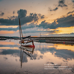 """The """"Overy Staithe"""" at Burnham Overy Staithe (viewfinder.general) Tags: thornham fullmoon hightide"""