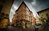Old Town. Vitoria-Gasteiz. (hajavitolak) Tags: oldtown cascoantiguo vitoria vitoriagasteiz euskadi euzkadi basquecountry beautiful edificios buildings wideangle granangular sinespejo evil mirrorles sony minolta minolta1735 1735