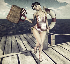 Marina... (zaziaa resident) Tags: cotton marina event theavenue