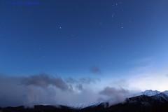 After the hunt (Chief Bwana) Tags: ca california sierras sierranevada stars orion canismajor dawn sunrise clouds psa104 chiefbwana