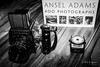 Kowa Six & Ansel Adams (PaulHoo) Tags: gas camera gear equipment product still life blackandwhite monochrome kowasix ansel adams book mediumformat lightmeter gossen closeup photography advertising productplacement studio illuminated