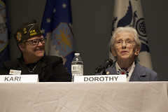 Celebration of Women's History Month Panel Discussion - 03/29/18 (Ohio Department of Veterans Services) Tags: ohio dept department vet vets veterans veteran services service woman women military armed forces womens history month 2018 center kari pfeiffer dorothy dottie windau
