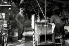 Cooking (Beegee49) Tags: street stall chicken customer bacolod city philippines