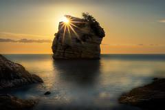The Glow of dawn (Massetti Fabrizio) Tags: sunrise sun sunlight sunset giallo puglia italia nikond4s nikon 2470f28 seascape sea landscape landscapes light longexposure rural red clouds color