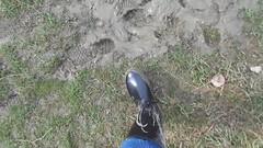 Muddy Nora Anton (Part 3) (rubberboy1990) Tags: gummistiefel rubberboots rainboots rainwear nora anton schlamm matsch mud