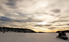 Lappland - Laponie (Mathieu Pierre) Tags: lights lapland canon 7dmark2 7dmarkii sigma14mmf18 sunset trees winter nature frost arctic hill finland nuit night sky snowytrees frozenlake ciel neige arbre snowbike