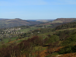 Hope Valley from Surprise View, March 2018