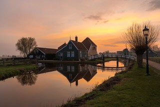 Zaanse Schans - Catharina Hoeve at dusk