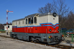 MÁV-START 45-2005 (Will Swain) Tags: seen hűvösvölgy budapest 7th january 2018 széchenyihegy train trains rail railway railways transport travel vehicle vehicles county country central capital city centre hungary europe mávstart 452005