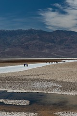 Badwater Basin (thedailyjaw) Tags: deathvalley deathvalleynationalpark nikon badwaterbasin salt flats halite table dry desert head composition framing water sand rock elements
