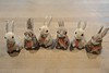 Six Bunnies (ricko) Tags: bunnies rabbits carrots toys easter