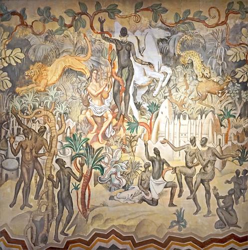 Afrique noire de Louis Bouquet (Musée des années 30, Boulogne-Billancourt)
