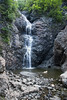 Taking a Dip D7C_4476 (iloleo) Tags: waterfall newfoundland canada summer copperminefalls nature landscape nikon d750 dog sherman rocks