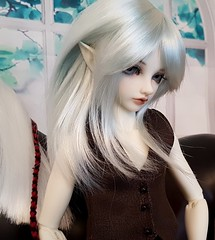 Elf (claudine6677) Tags: bjd msd ball jointed doll asian dolls mnf minifee fairyland karsh elf elfen elben horse pferd sammlerpuppe puppe