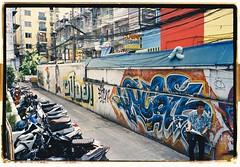 3117 (25) (Oberoende Slav) Tags: bangkok thai thailand graffiti kodak 35mm 135mm film olympus mju