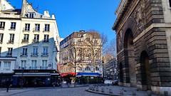 550 Paris en Février 2018 - la Porte Saint-Martin (paspog) Tags: paris france février februar february 2018 portesaintmartin