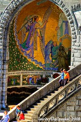 Lourdes 047-A-7 (José María Gil Puchol) Tags: aquitaine basilique catholique cathédrale eau eaumiraculeuse fidèle france josémariagilpuchol lourdes paysbasque pélèrinage religion