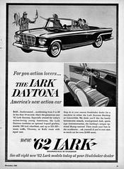1962 Studebaker Lark Daytona Convertible (aldenjewell) Tags: 1962 studebaker lark daytona convertible ad