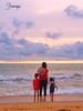 Family time (Shamique) Tags: beech evening family sunset love children parenting