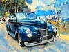 Happly Slider Sunday (novice09) Tags: slidersunday backtothefifties carshow ford 1940 convertible whitewalls artistic art hss