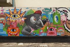 Grafiti en el 136 Soi Samsen 4, Bangkok. (www.rojoverdeyazul.es) Tags: urban photography fotografía urbana bangkok thailand tailandia autor álvaro bueno grafiti graffitti 136soisamsen4 fantasy fantasía
