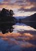 Couds reflected in Loch Voil at sunrise (_Euan) Tags: dhanakosa landscape loch lochvoil sunrise lochlomond balquhidder scotland visitscotland fujifilm lake water reflection reflections dawnlight darktable
