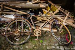 (Dubai Jeffrey) Tags: china abandoned bicycle jiangsu lumber old ruralearlyspring rust suzhou