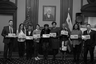 March 28, 2018 Woman Veteran Specialty License Plate Unveiling