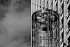 the tower (christikren) Tags: austria architecture blackwhite christikren city facade monochrome linescurves panasonic reflection sw vienna wien tower rzbturm salztorbrücke urban
