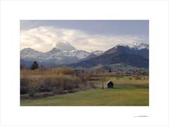 La tarde encendida (E. Pardo) Tags: paisaje landscape landschaft montañas berge mountains cielo sky himmel colores colors farben steiermark austria