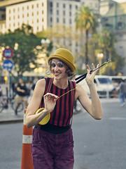 Smile (Martin H.E) Tags: sony a7r2 90mm tamron buenos aires portrait retrato amateur photo alpha clown woman colors colores argentina art street pic
