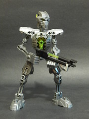 Necron tablescrap (Purpleboye (Anaru)) Tags: necron 40k warhammer robot bionicle herofactory constraction