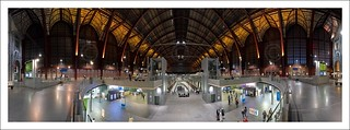 Panoramic Antwerp Central Station