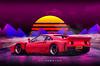 288 (hyperwave.us) Tags: jaguar xj220 supercar bmw x5m lambo lamborghini urus honda acura nsx toyota supra jza80 ferrari laferrari 488 testarossa f40 mazda rx7 rotary fd3s diablo veneno 288 mercedes 300 sl render hyperwave car design art
