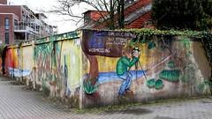 OLDENBURG - Graffiti, Street art at various locations ( street: 'Kurt-Hubert Straße / Carl-von-Ossietzky Straße') / 154th picture) (tusuwe.groeber) Tags: projekt project lovelycity graffiti germany lowersaxony oldenburg streetart niedersachsen farbig farben favorit colourful colour sony sonyphotographing nex7 bunt art gebäude building konzept concept wall wand motifs deutschland kurthubertstrase carlvonossietzkystrase