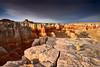 Contrast Light at Coalmine Canyon (David Shield Photography) Tags: landscape southwest arizona coalminecanyon redrocks navajo hopi sunset sky clouds light color nikon contrast