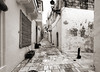 Alley (albireo 2006) Tags: malta gozo blackwhitephotos blackandwhite blackandwhitephotos blackwhite bw bn rabat victoria